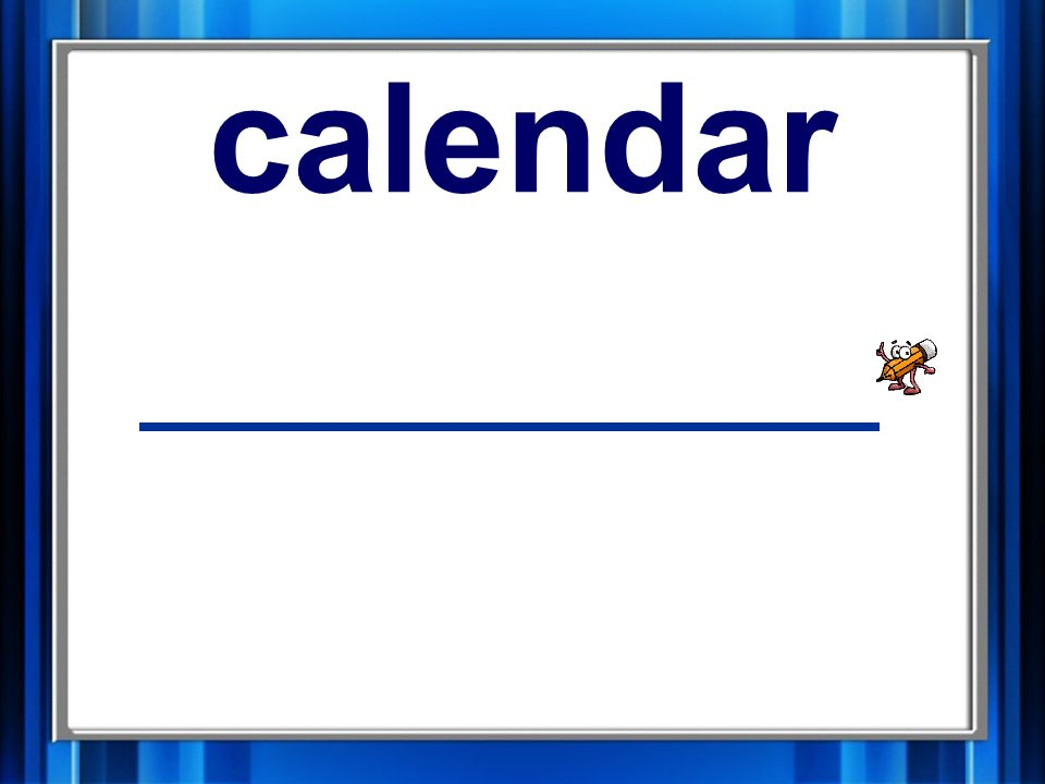 10. calendar calendar