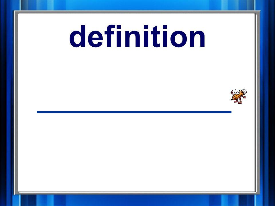 15. definition definition