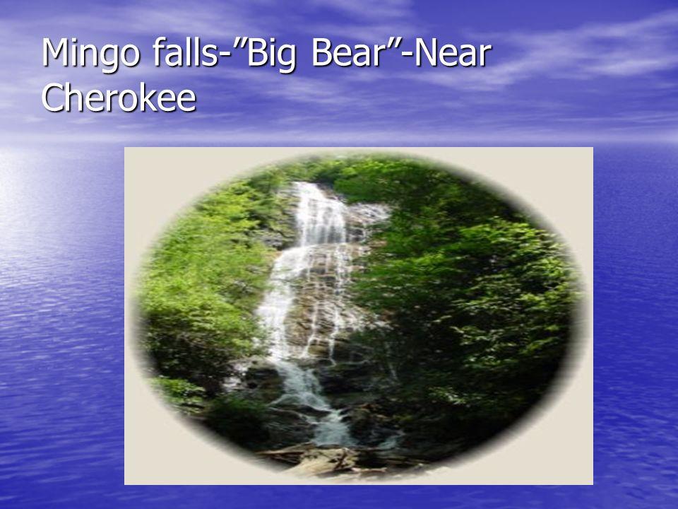 Mingo falls-Big Bear-Near Cherokee