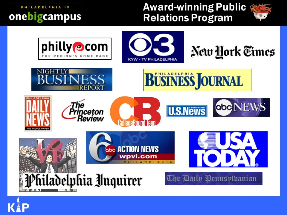 Award-winning Public Relations Program