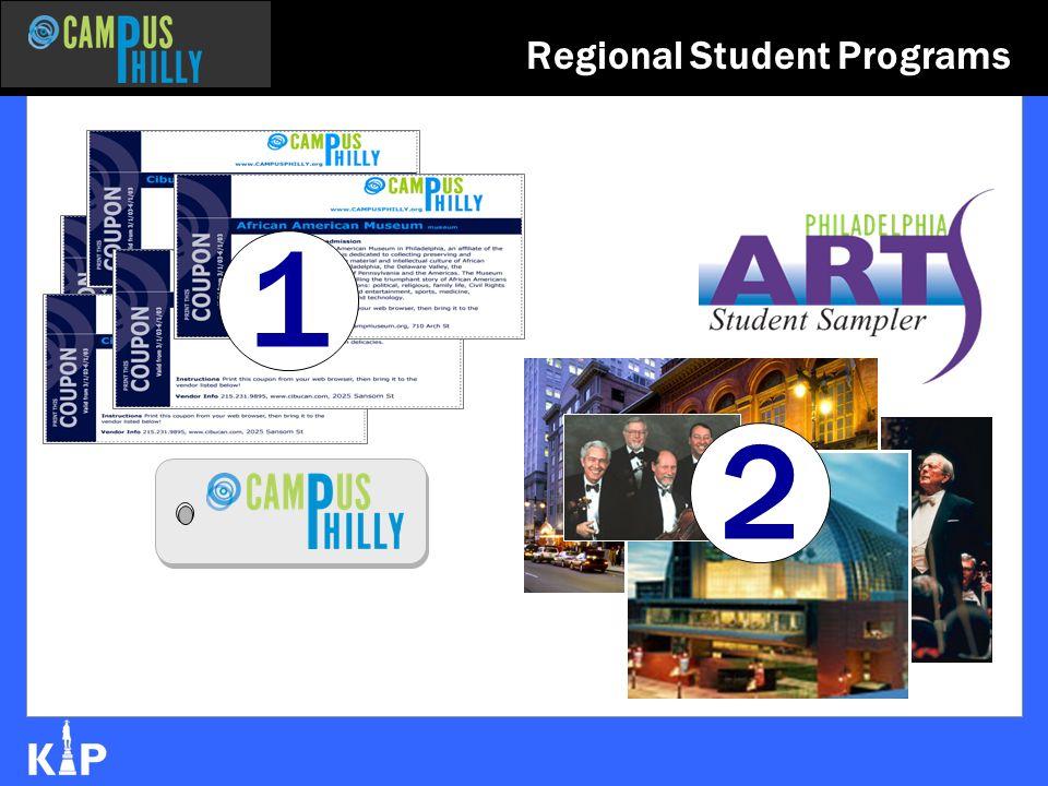 Regional Student Programs 1 2