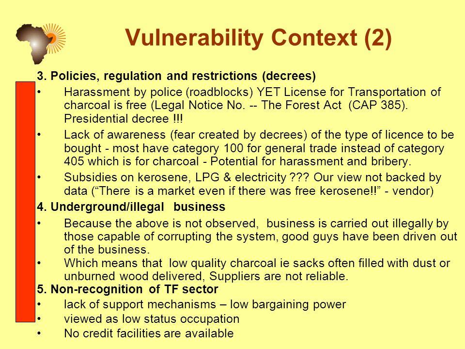 Vulnerability Context (2) 3.