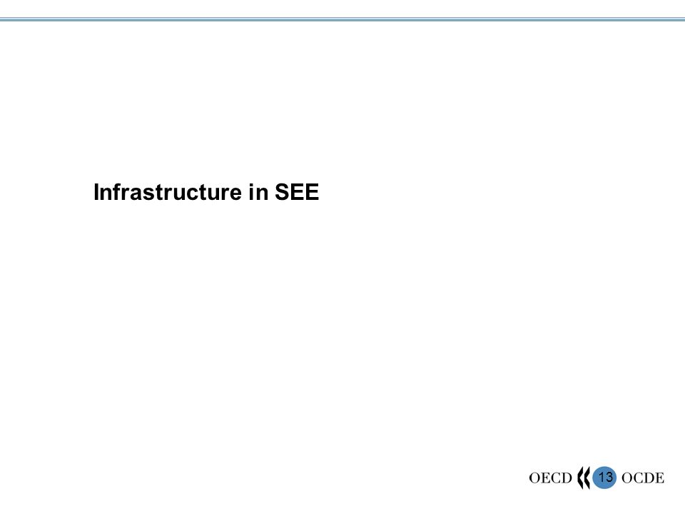 13 Infrastructure in SEE