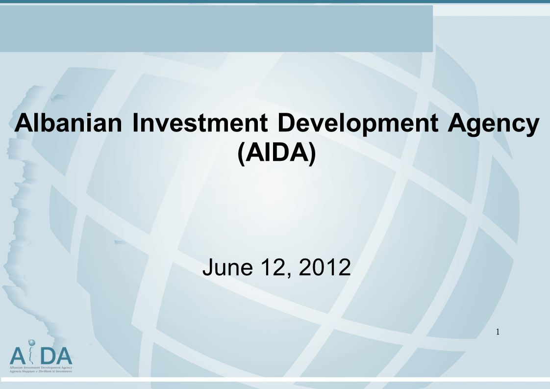 Albanian Investment Development Agency (AIDA) June 12,