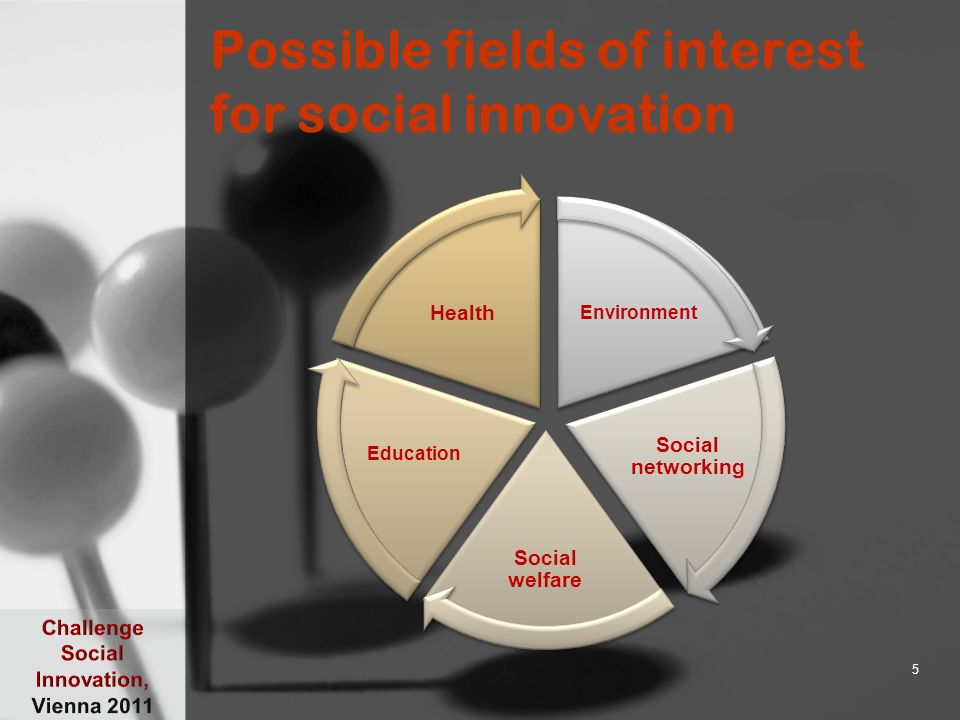 Skills for social development Understanding both the supply and the demand for skills in the 5 outlined fields is key to promoting social innovation The questions we will be asking: –Which occupations are dominant in the fields of social development.