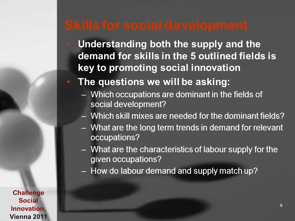 About skill sectors A skill sector includes: –Qualifications, –occupations and competences which belong to a particular field of knowledge All skill levels are present from research to higher education, to simple occupations for which no qualifications are required, only practical experience 7