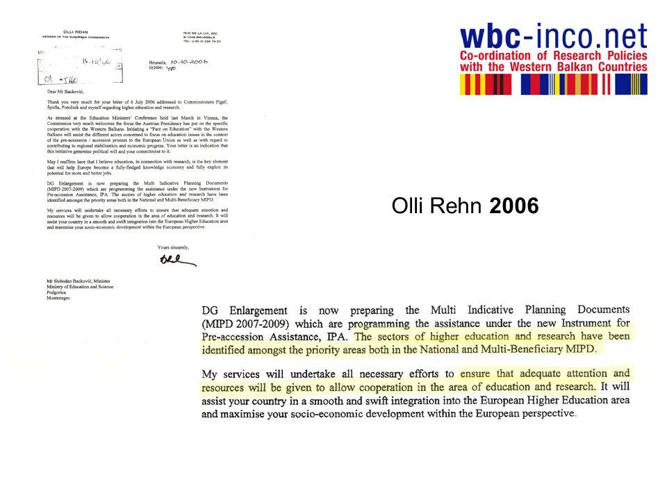 Olli Rehn 2006