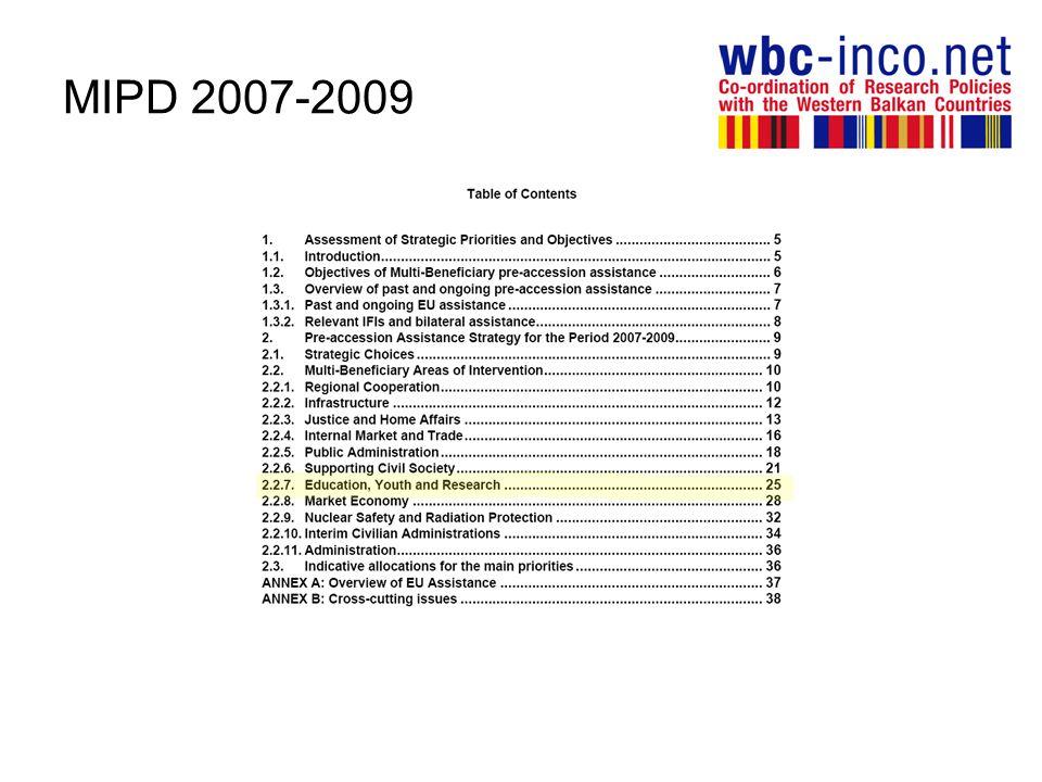 MIPD 2007-2009