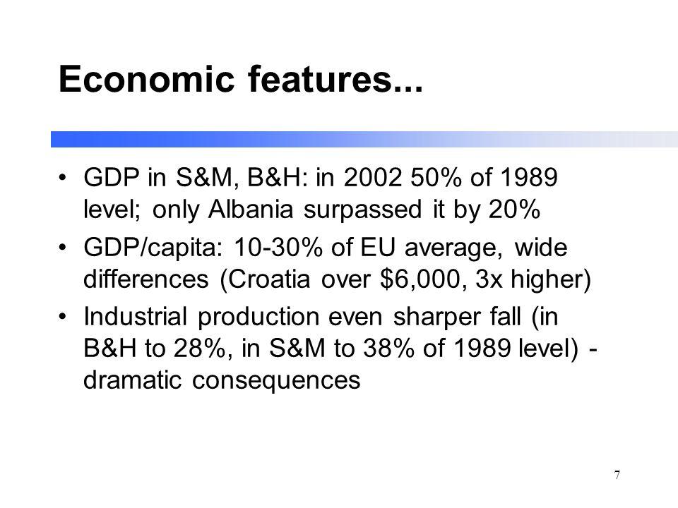 7 Economic features...