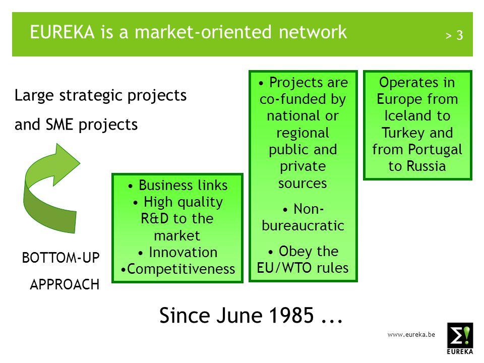 www.eureka.be > 4 EUREKA mission statement WHY.