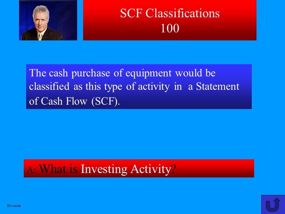 SCF Basic Concepts 500 A: What is Schedule of significant Non-cash investing and financing activities or transactions? This section of Statement of Ca