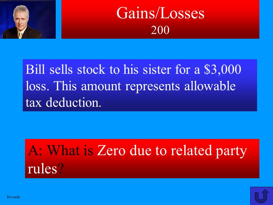 Gains/Losses 100 A: What is 20% capital gains tax rate.