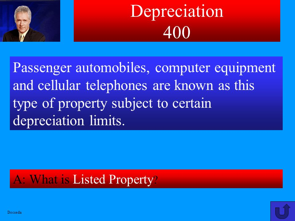 Depreciation 300 A: What is $24,000.