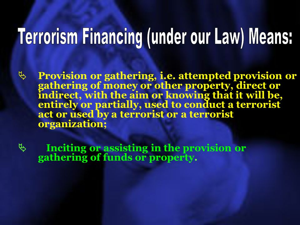 Banks are key reporting entities under the Law on the Prevention of Money Laundering and Financing of Terrorism, because : Money, including dirty money, mainly circulates through the banking channels.