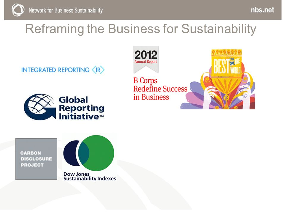 Reframing the Business for Sustainability