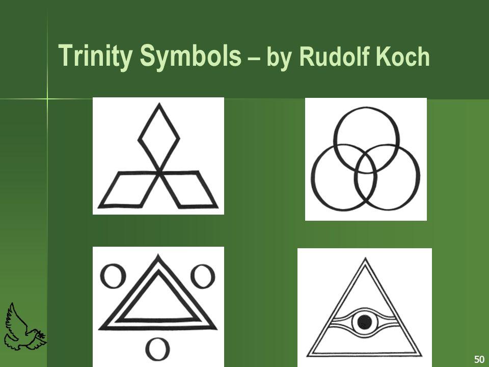 50 Trinity Symbols – by Rudolf Koch