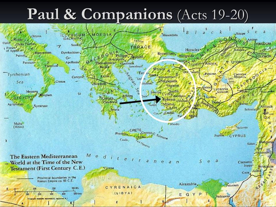 55 Paul & Companions (Acts 19-20)