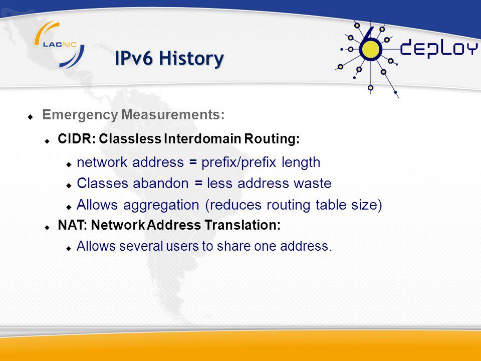 Agenda Initial Concepts. IPv6 History. What is IPv6? Planning IPv6.