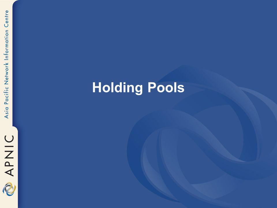 Holding Pools