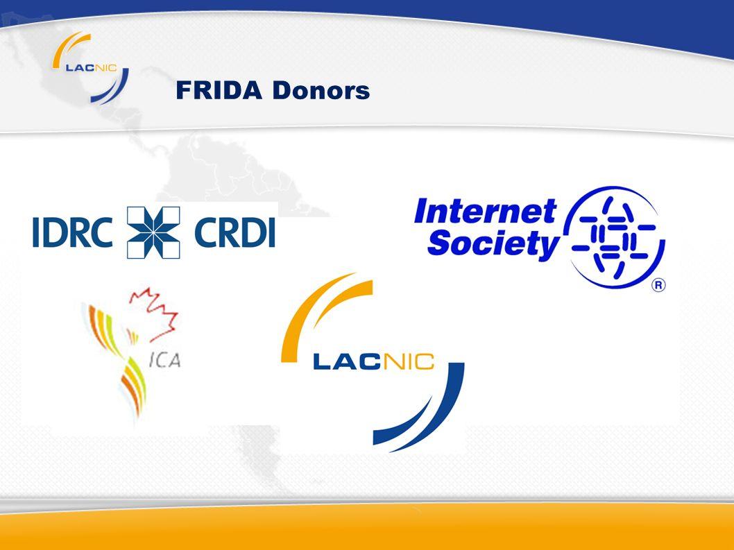 FRIDA Donors