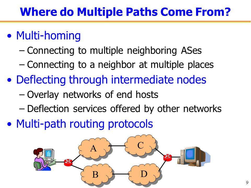 10 How Do Edge Nodes Switch Forwarding Paths.