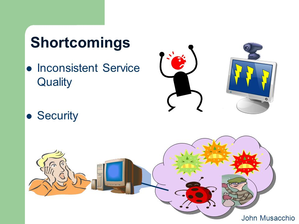 Shortcomings Inconsistent Service Quality Security John Musacchio