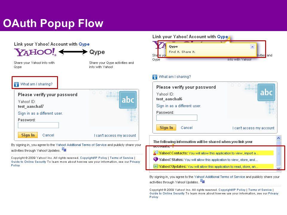 OAuth Popup Flow