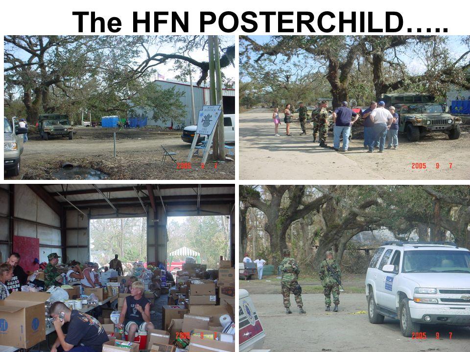 The HFN POSTERCHILD…..