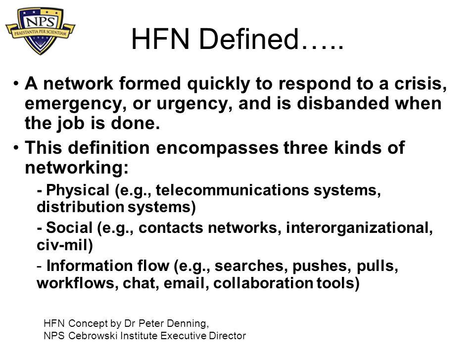 HFN Defined…..