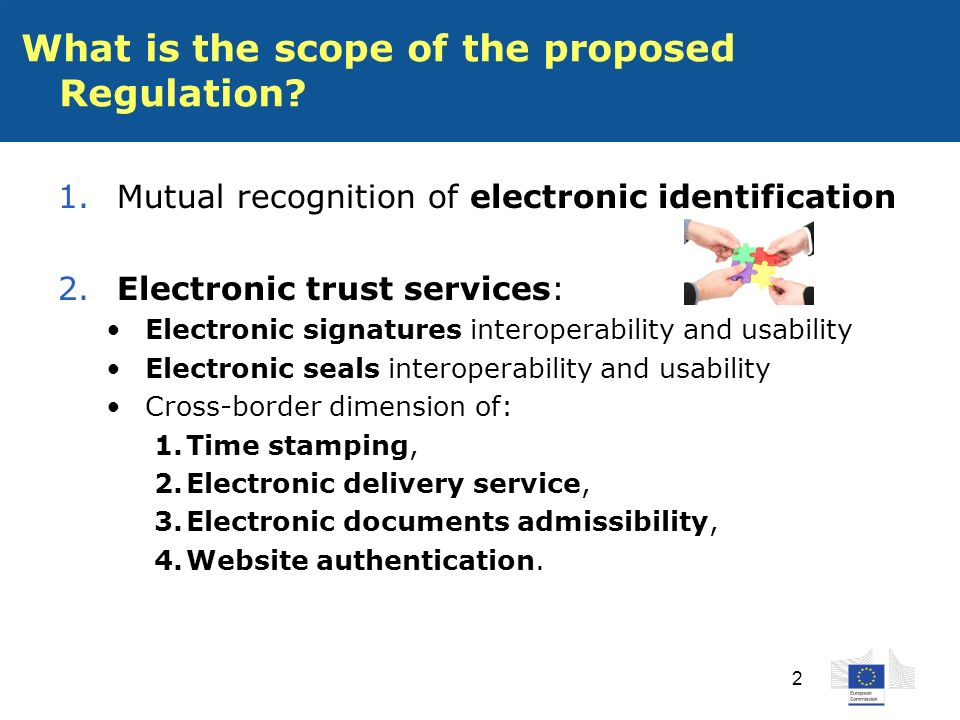 2 What is the scope of the proposed Regulation. 1.