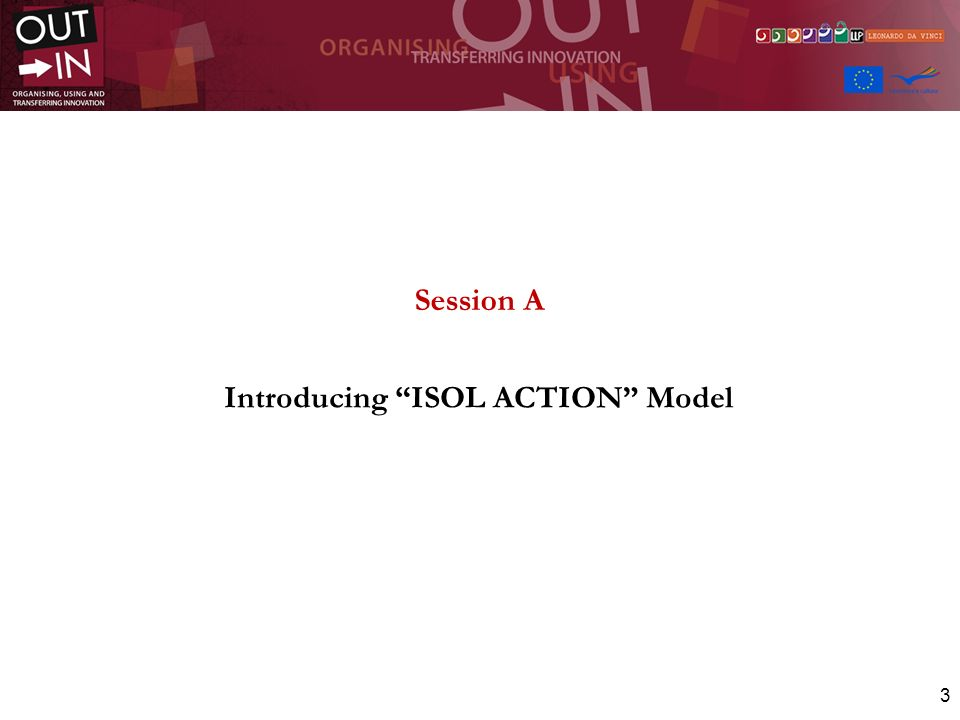 3 Session A Introducing ISOL ACTION Model