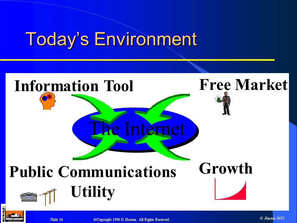 Slide 16 Copyright 1996 G. Huston. All Rights Reserved.