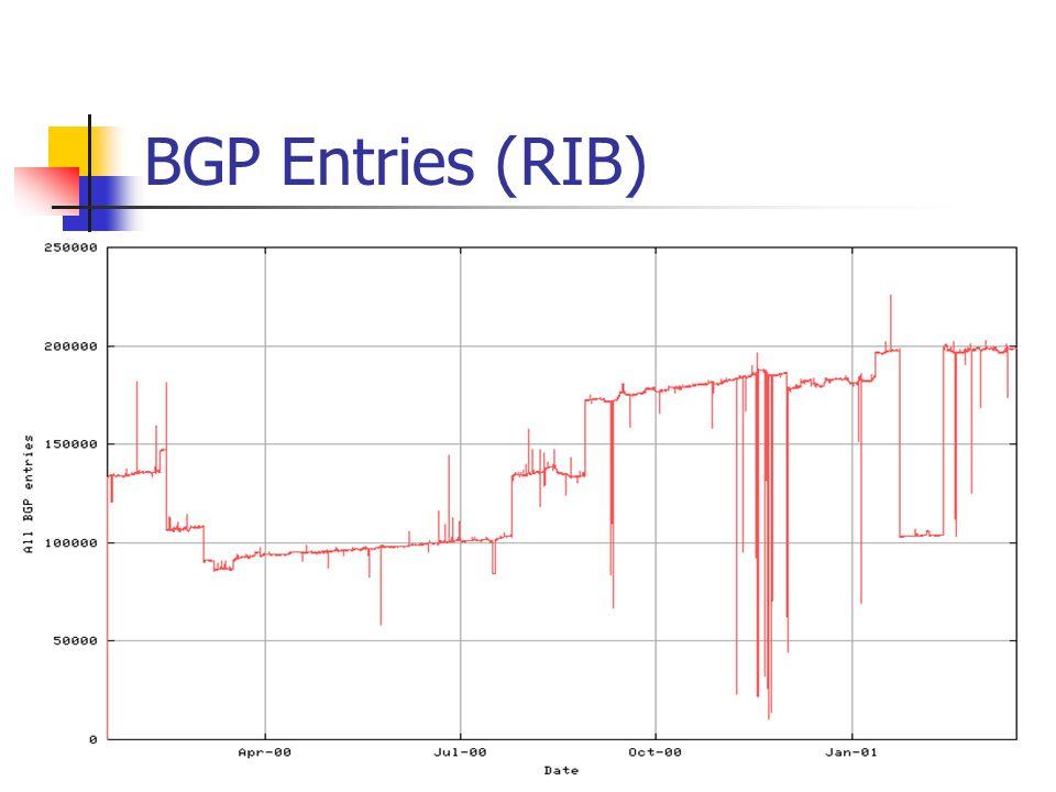 BGP Entries (RIB)
