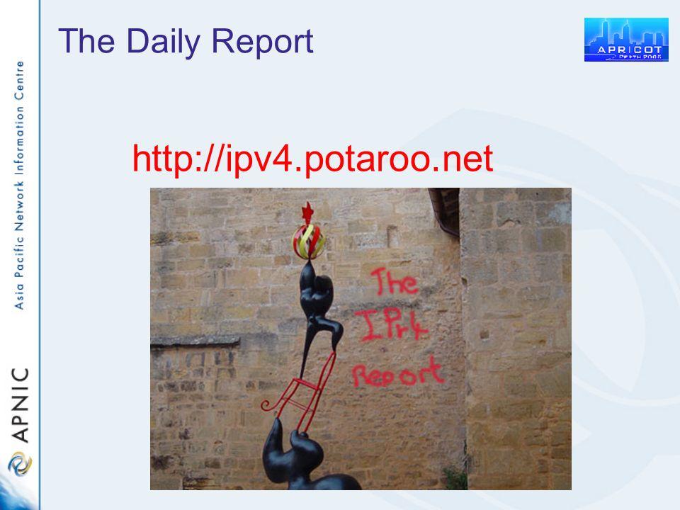 The Daily Report http://ipv4.potaroo.net