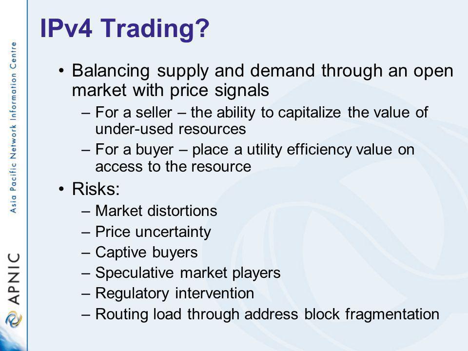 IPv4 Trading.