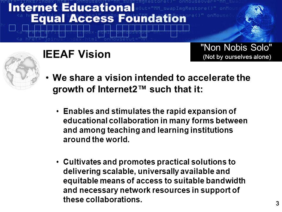 3 IEEAF Vision