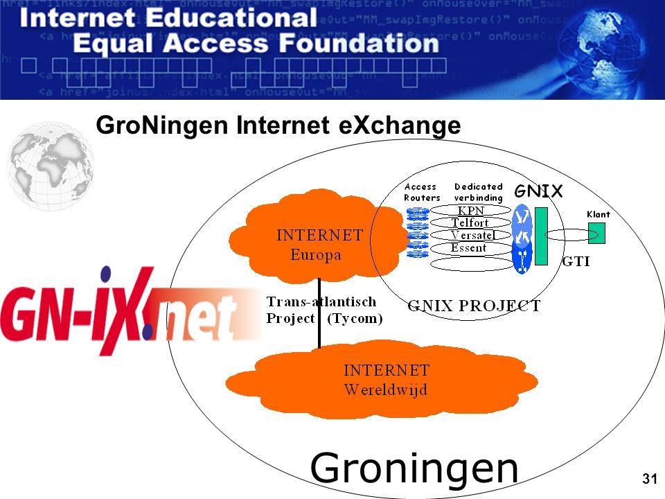 31 GroNingen Internet eXchange Groningen