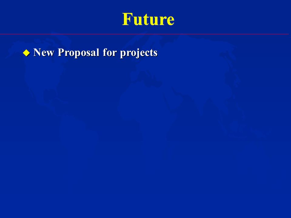 Future u New Proposal for projects
