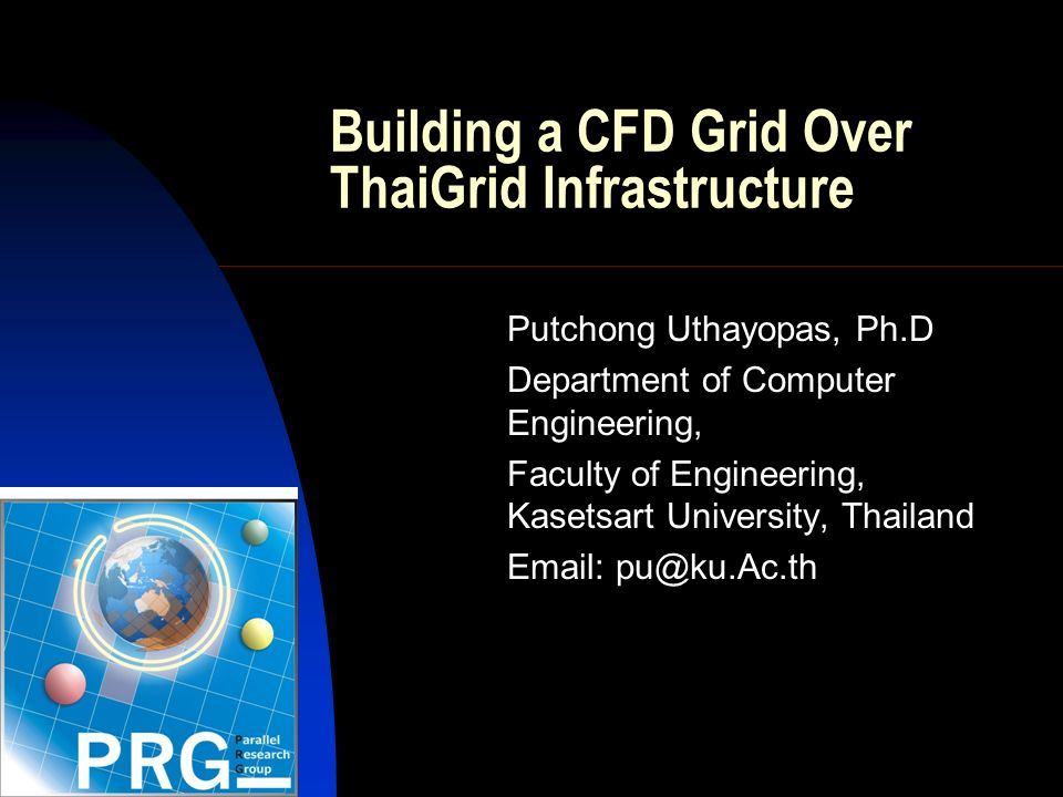 Introduction Computation Fluid Dynamics (CFD) is a study of fluid behavior by using numerical technique that allows user to analyze Fluid Flow, Heat Transfer and Others Related Phenomena.