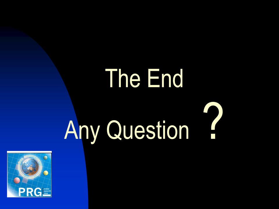 The End Any Question