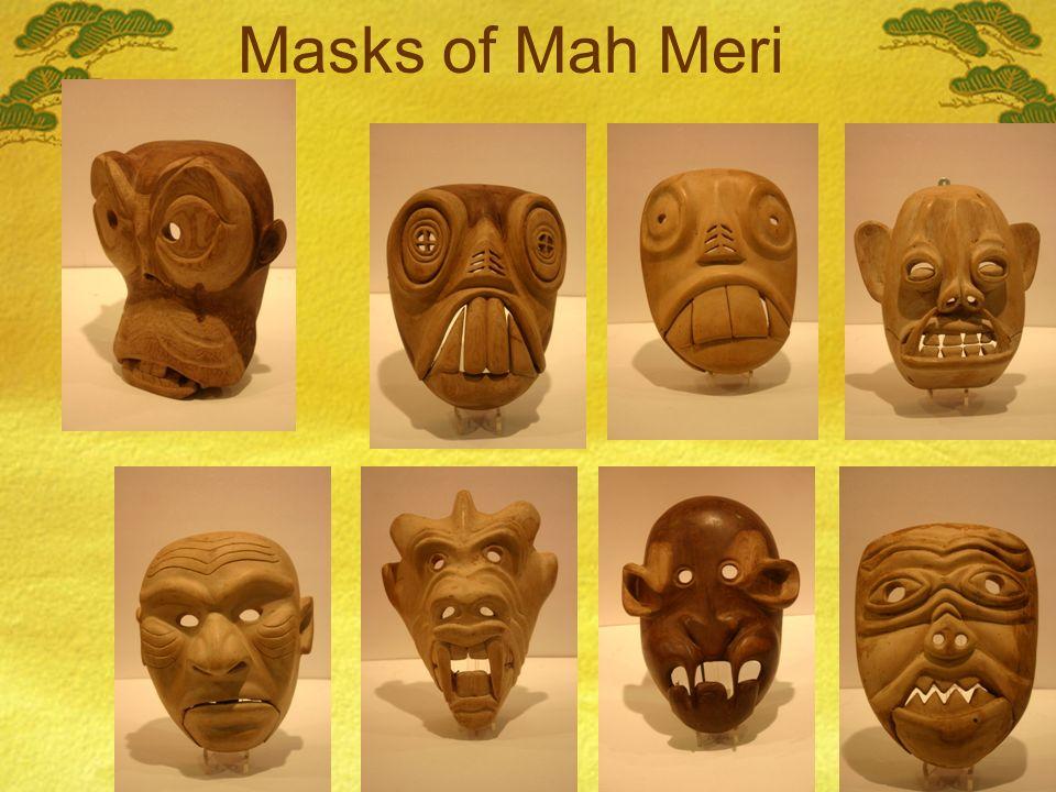 Masks of Mah Meri