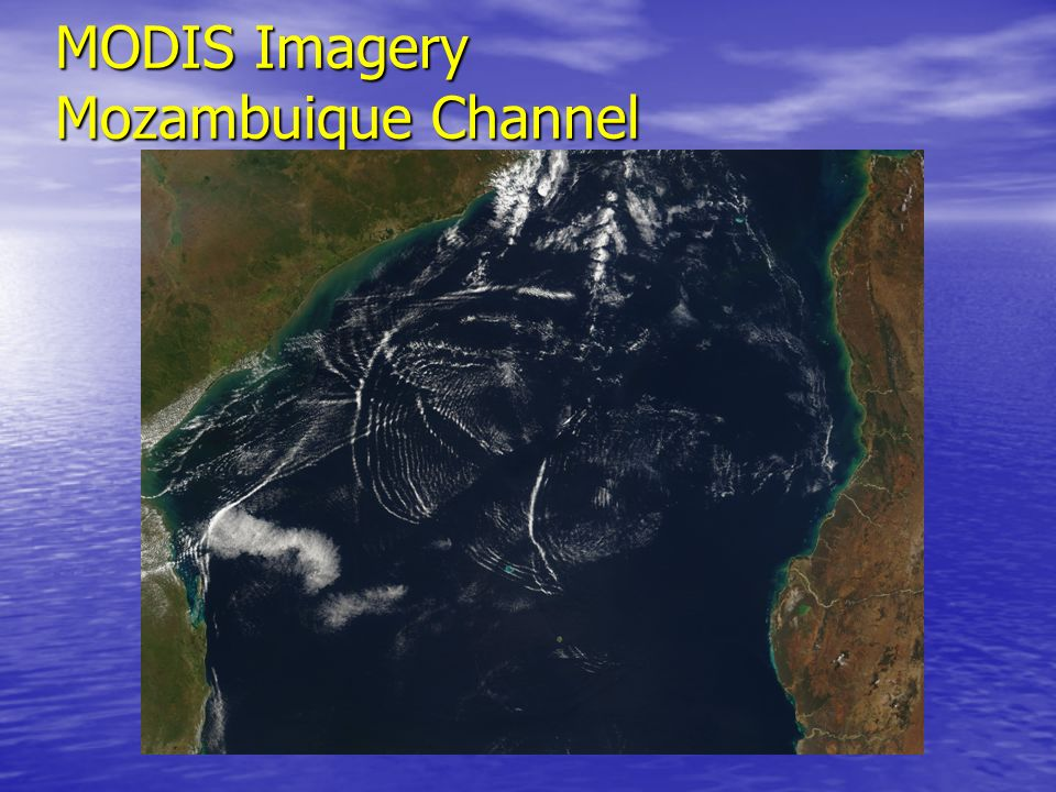 MODIS Imagery Mozambuique Channel