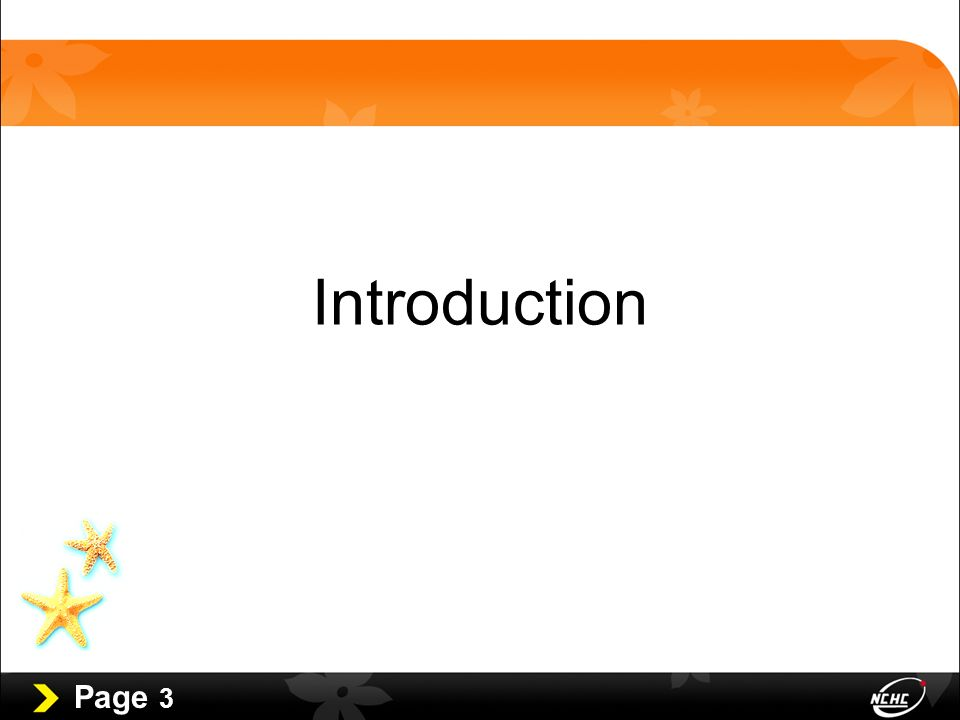 Page 3 Introduction