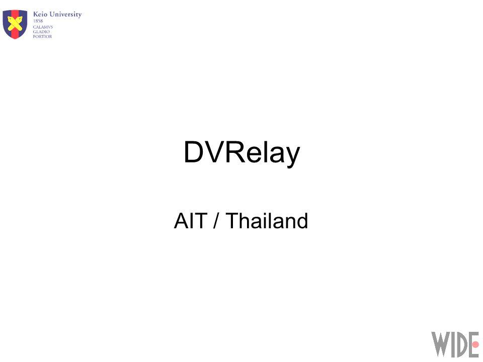 DVRelay AIT / Thailand