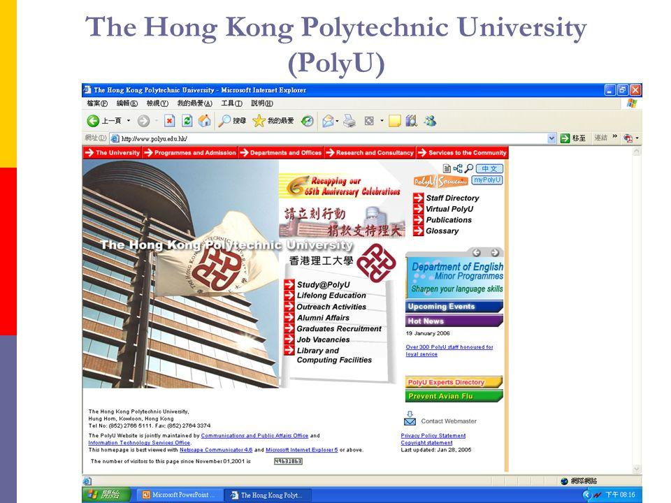 The Hong Kong Polytechnic University (PolyU)