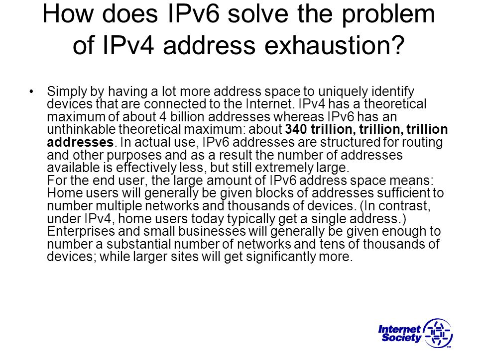 I run an ISP with a block of IPv4 address space.Can I just convert that into IPv6 space.