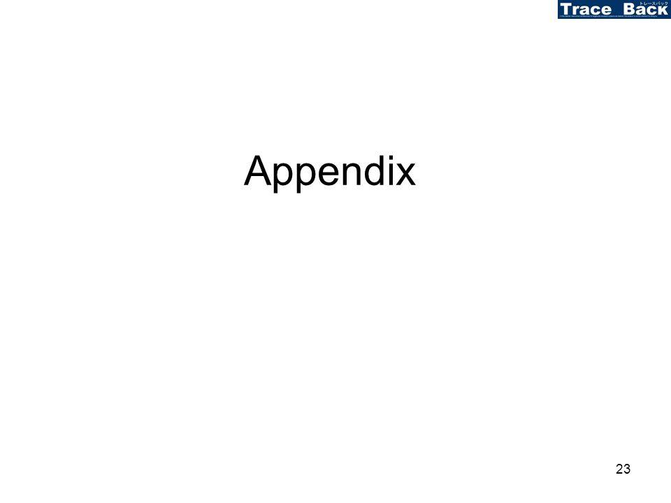 23 Appendix