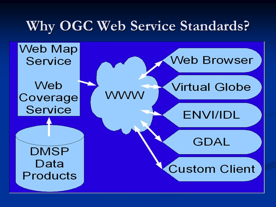 Why OGC Web Service Standards