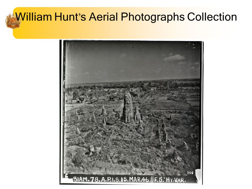 William Hunt s Aerial Photographs Collection