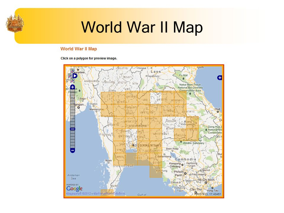 World War II Map
